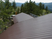 Sheet Metal Roofing by Right Choice Roofing